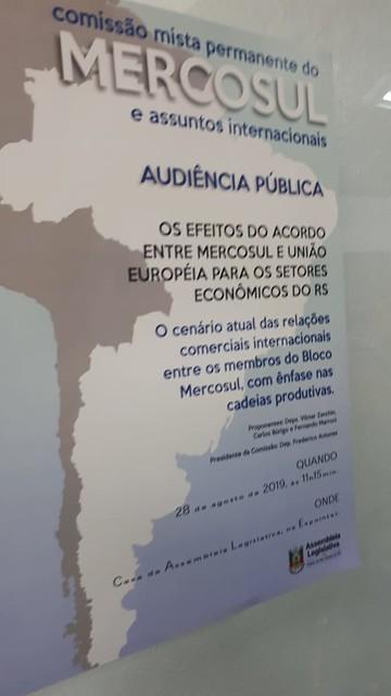 28/08/2019 Audiência Pública ALRS - Expointer