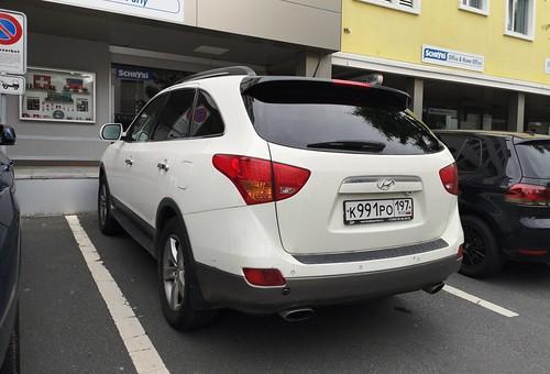 Hyundai IX55 Russia plate
