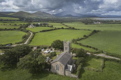 Distant rain, Kilgobbin, Kerry