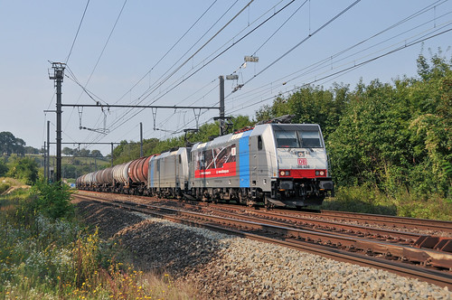 DB Cargo Nederland 186 498 Bassenge 27.08.2019