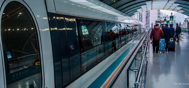 2019 - Shanghai - Longyang Road Maglev Station