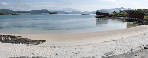 Arctic landscapes. Sommaroy island. Norway
