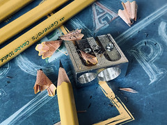 Sharpening pencils