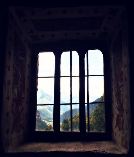 val blenio attraverso la finestra