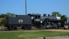 Frisco Steam Locomotive Engine, Frisco Texas