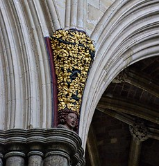 Exeter Cathedral - king & queen corbels