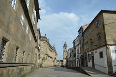 In the streets of Santiago de Compostela IX