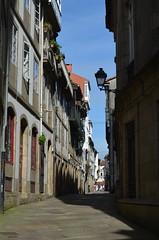 In the streets of Santiago de Compostela X