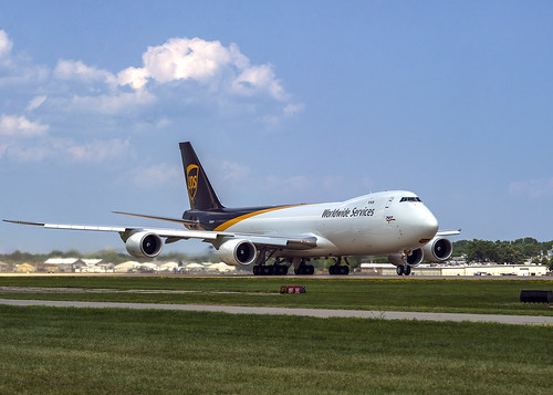 United Parcel Service (UPS) Boeing 747-8F N616UP