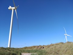 Wind Turbines In Hvide Sande