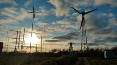 Wind Turbines at the Nordic Folkecenter Testfield