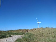 Wind Turbine In Hvide Sande