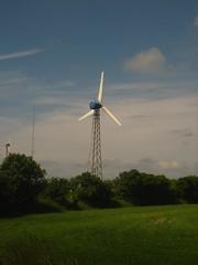 Wind Turbine at Nordic Folkecenter Testfield