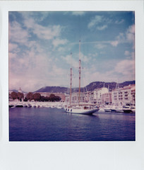 Sailing Boat in Nice Port