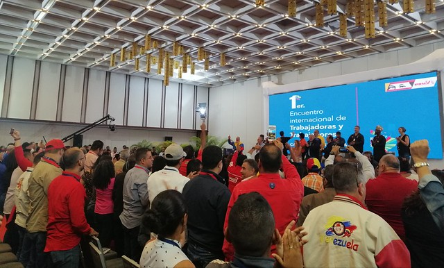 Encontro internacional de trabalhadores reúne entidades de 24 países na Venezuela