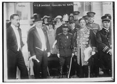 Tokyo, C.B. Warren calling on Emperor (LOC)