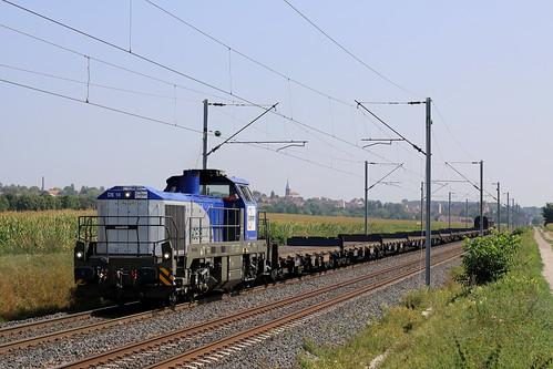 Vossloh 550xxxx - DE 18 EUROPORTE / Hochfelden