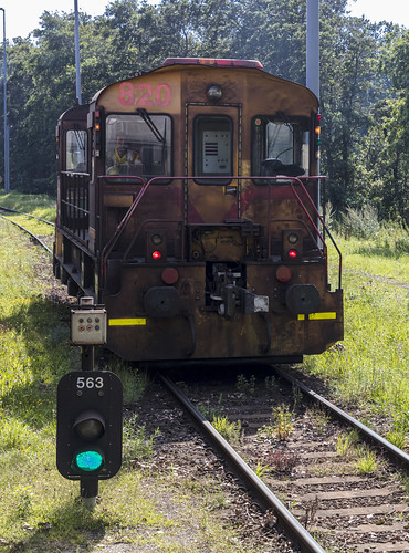 TATA steel Lok 820, 25 augustus 2019