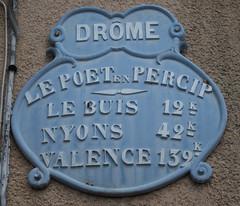 Le Poet en Percip, Drome