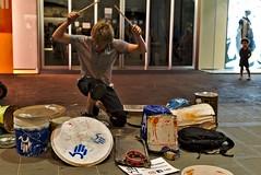 Ferrara buskers festival: Drumbo Drummer