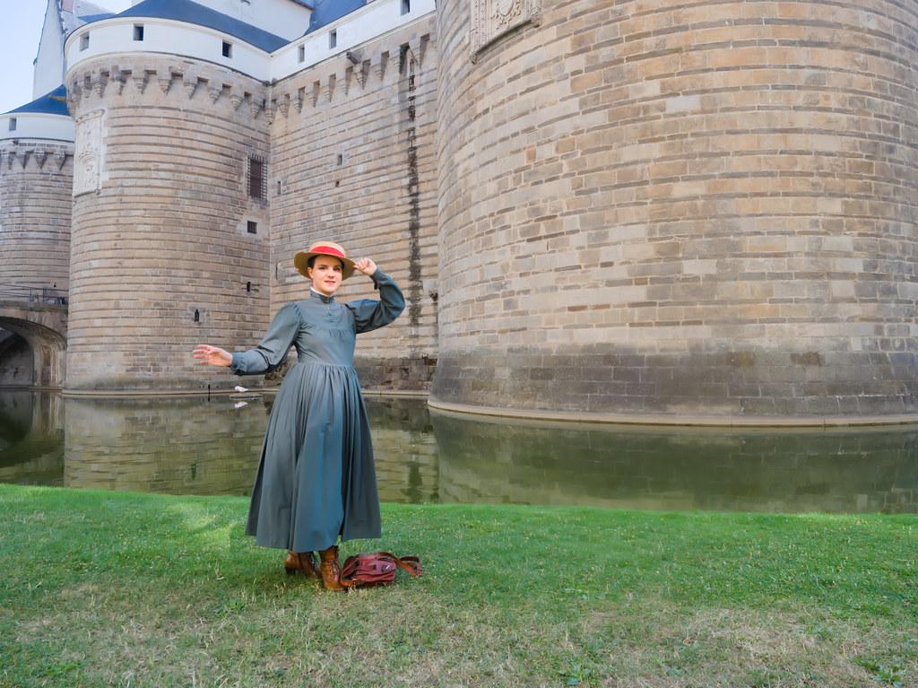 related image - Shooting Sophie - Le Château Ambulant - Fée Vagabonde - Palais des Ducs de Bretagne - Nantes -2019-08-02- P1800448