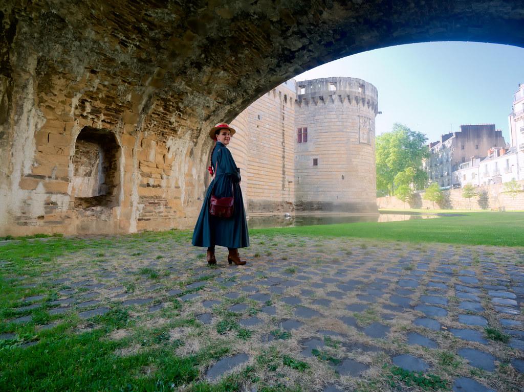 related image - Shooting Sophie - Le Château Ambulant - Fée Vagabonde - Palais des Ducs de Bretagne - Nantes -2019-08-02- P1800456