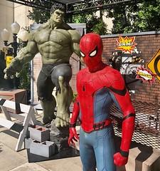 Hulk and Spider Man