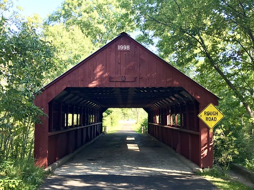 08-30-2019 Ride Stony Creek Covered Bridge