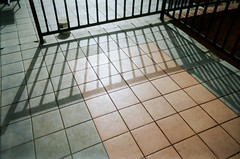 Shadow and tiles