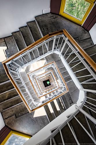 Treppenhaus auf dem Scheibenberg - Erzgebirge