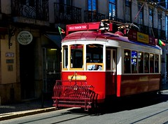 Old Electrical trams converted to tourism purpose