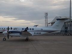 G-IASB Textron Beech King Air B200GT (IAS Medical Ltd)