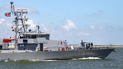 USS Shamal (PC 13) departs Naval Station Mayport, Fla.