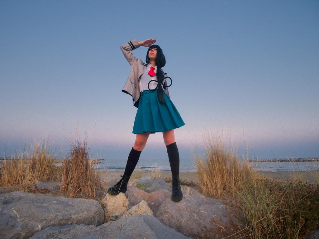 related image - Shooting Tsuyu - My Hero Academia - Bakashi Cosplay - Saintes Maries de la Mer -2019-08-06- P1811699