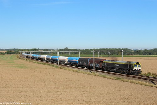 Railtraxx 266 001 (6601) - Neerwinden (B) 31-08-2019.