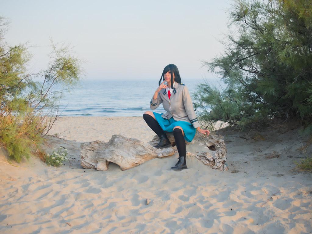 related image - Shooting Tsuyu - My Hero Academia - Bakashi Cosplay - Saintes Maries de la Mer -2019-08-06- P1811601