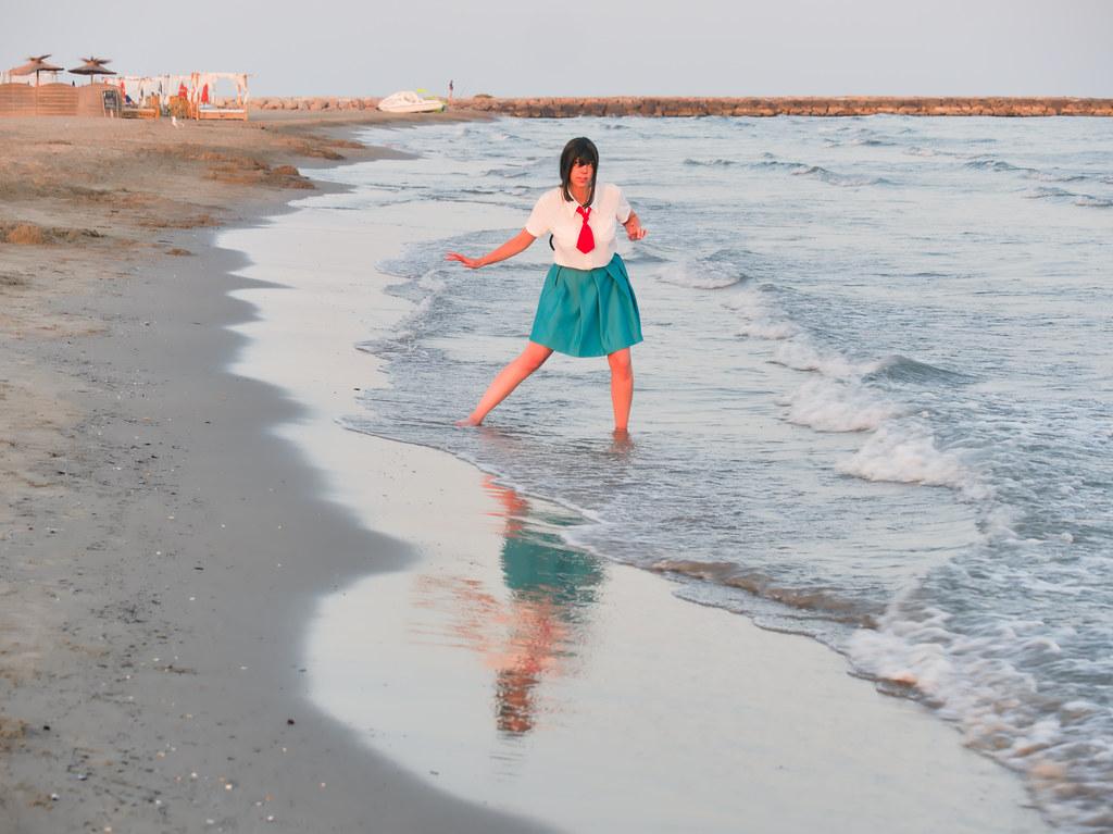 related image - Shooting Tsuyu - My Hero Academia - Bakashi Cosplay - Saintes Maries de la Mer -2019-08-06- P1811660