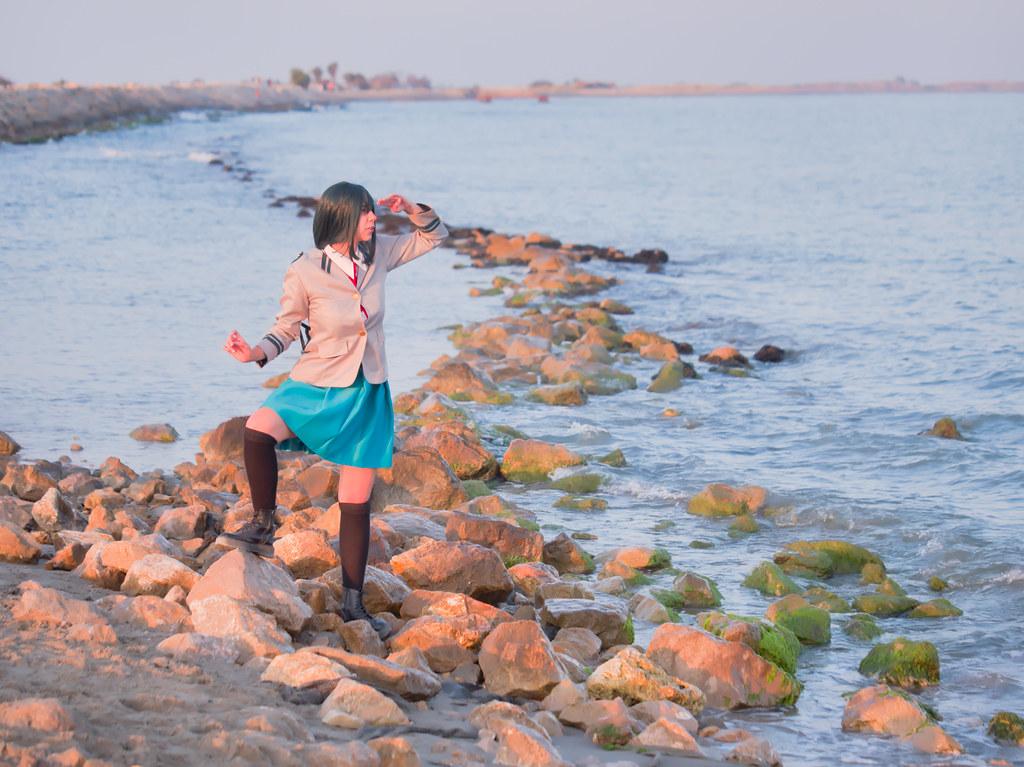 related image - Shooting Tsuyu - My Hero Academia - Bakashi Cosplay - Saintes Maries de la Mer -2019-08-06- P1811616
