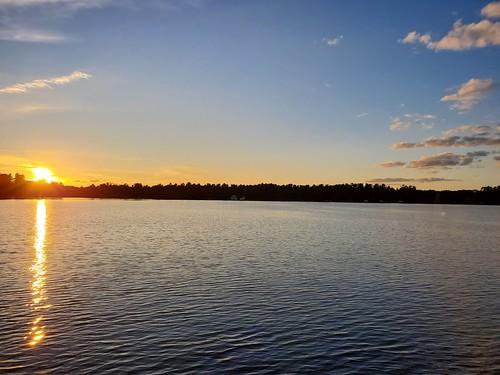 Sunset on Lake Minocqua