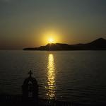 An Adriatic Sunset  (Ektachrome E100)