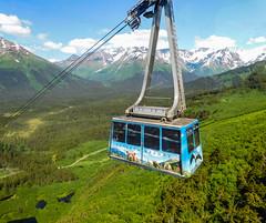 Alyeska Tramway to Alyeska Mountain