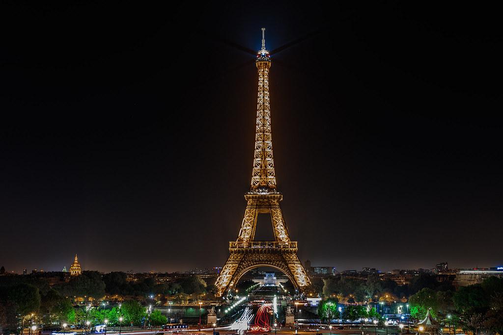 Eiffel Night