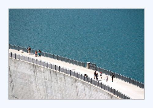 balade sur le barrage