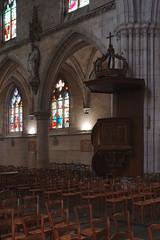 Pulpit (Église Sainte-Croix, Bernay)