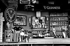 Murphy's Pub Wiesbaden in b&w
