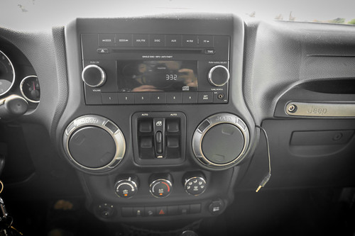 2012 Jeep Wrangler JK Unlimited Console