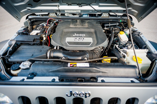 2012 Jeep Wrangler JK Unlimited Engine
