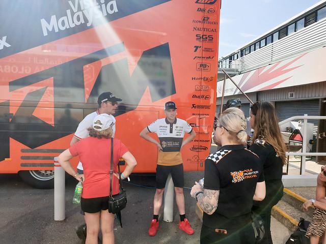 BritishGP 2019 - Riders experience