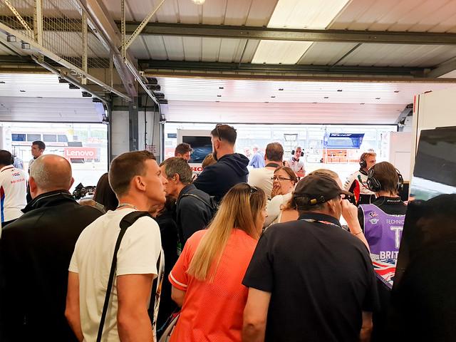 BritishGP 2019 - LCR Garage