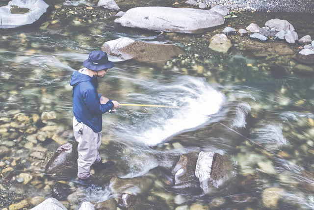 "Photo:""我釣的不是魚,而是生命長河中的瑣碎記憶。"" By brian25_tw"